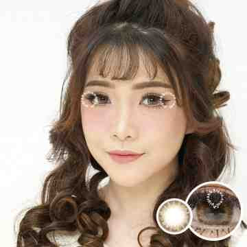 EOS Enpris Lighting Brown Softlens
