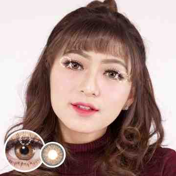EOS Rainshower Brown Softlens