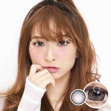 Eclipse Miyu Silver Grey Softlens