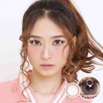 Eclipse Ruby Grey Softlens