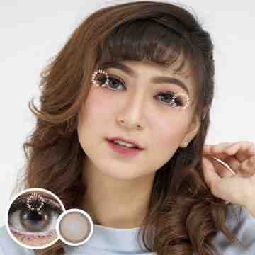 Kitty Kawaii Cottage Brown Softlens