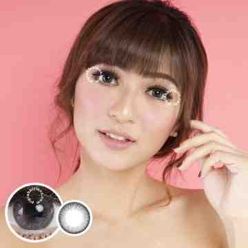 Kitty Kawaii Falling Grey Softlens