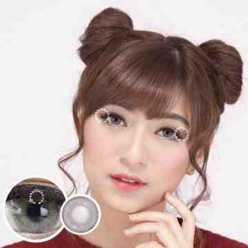 Kitty Kawaii Jet Aime Grey Softlens