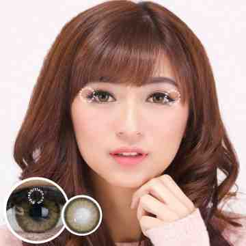 Kitty Kawaii Jinnie Brown Softlens