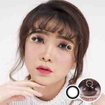 Kitty Kawaii Mini Clean Black Softlens