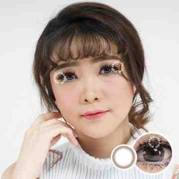 Kitty Kawaii Mini Clean Brown Softlens