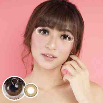Kitty Kawaii Mini Jeneth Brown Softlens
