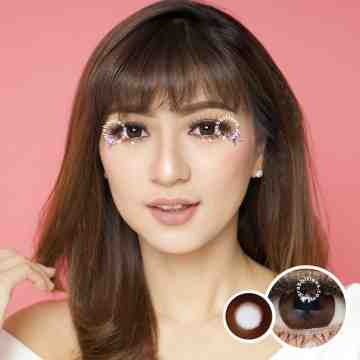 Kitty Kawaii Mini Margarita Brown Softlens