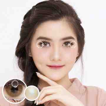 Kitty Kawaii Mini Milin Brown Softlens
