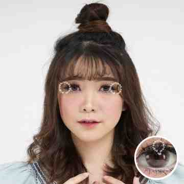 Kitty Kawaii Mini Soft Brown Softlens