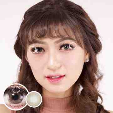 Kitty Kawaii Mini Vivian Brown Softlens