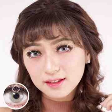 Kitty Kawaii Navy Grey Softlens