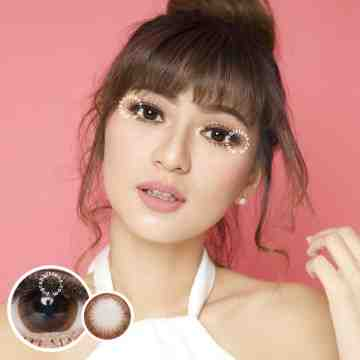 Kitty Kawaii Platinum Brown Softlens