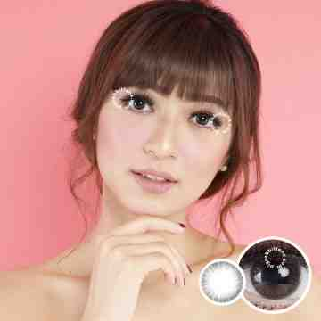 Kitty Kawaii Mini Someday Grey Softlens