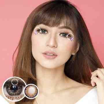 Kitty Kawaii Mini Twinkle Grey Softlens