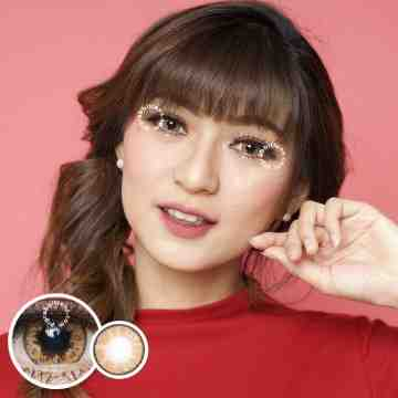 Kitty Kawaii Pika Brown Softlens