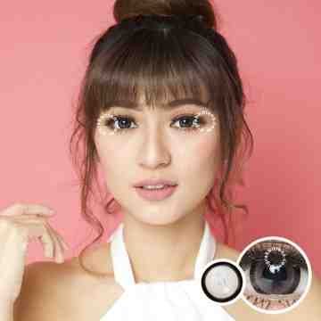 Kitty Kawaii Sakura Grey Softlens