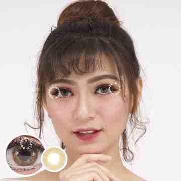 Lollipop Mini Velvet Brown Softlens