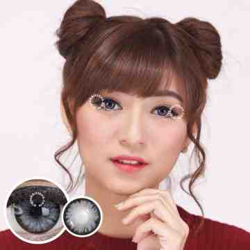 Pretty Doll Little Chimmer Grey Softlens
