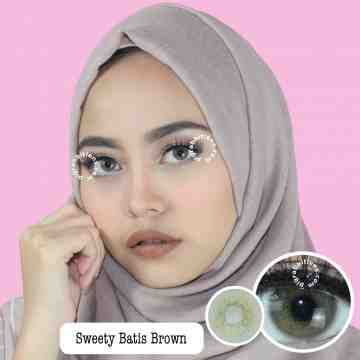 Sweety Plus Batis Brown Soflens