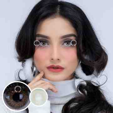 Pretty Doll Shilla Brown Softlens