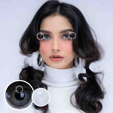 Pretty Doll Shilla Grey Softlens