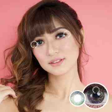 Kitty Kawaii Neptune Green 7 Tone Softlens