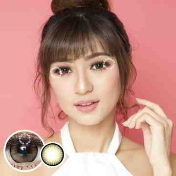 Dreamcolor1 Pure Brown Softlens