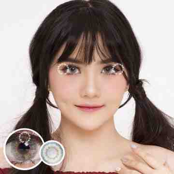 EOS Anuna Grey Green Softlens