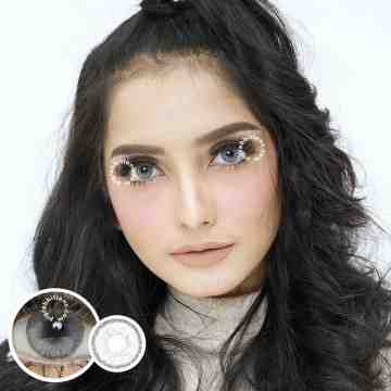 EOS Sole 2Tone White Grey Softlens
