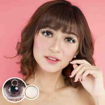 Kitty Kawaii HugMe Grey Softlens