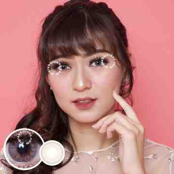 Lollipop Stoneberry Grey Softlens