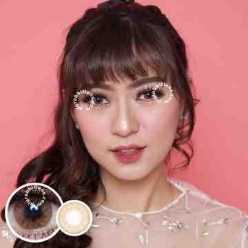 Lollipop Stoneberry Brown Softlens