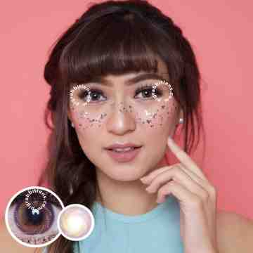 Lollipop Rorastar Brown Softlens