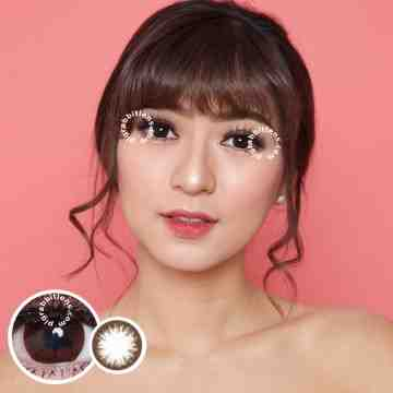 EOS GBK Brown Softlens