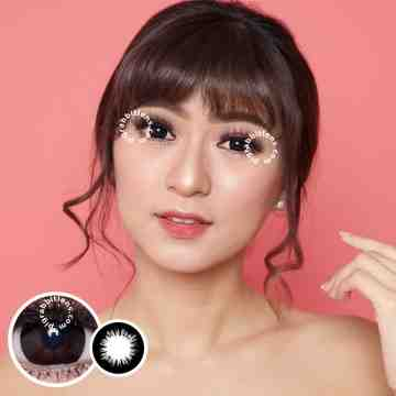 Dreamcolor1 Candy Black Softlens