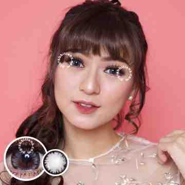 Pretty Doll Big Chimmer Grey Softlens