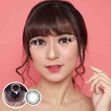 Kitty Kawaii Diva Grey Softlens