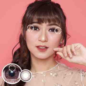 EOS Luna Pink Brown Softlens