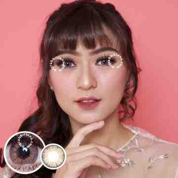EOS S307 Berry Softlens