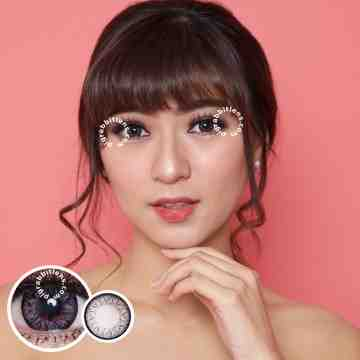Kitty Kawaii Mini Holla Grey Softlens