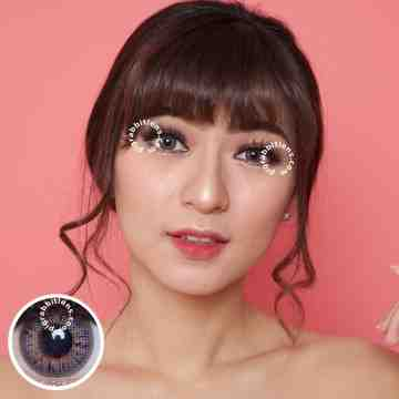 Pretty Doll Soulmate Grey Softlens