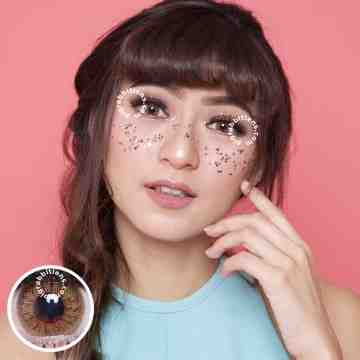 Pretty Doll Soulmate Brown Softlens