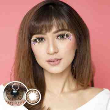 Kitty Kawaii The Secret Brown Softlens