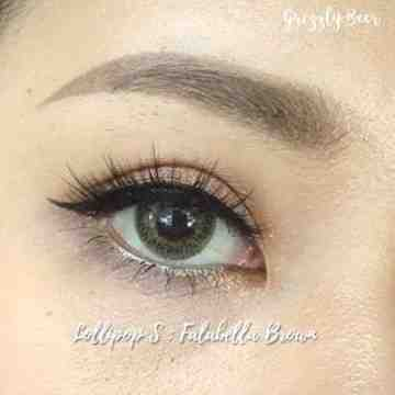 LollipopS Fallabella Brown Softlens
