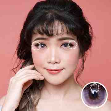 Kitty Kawaii Mini Ava Violet Softlens