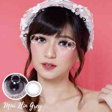 Kitty Kawaii Mini Ilin Grey Softlens