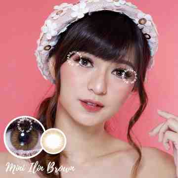 Kitty Kawaii Mini Ilin Brown Softlens
