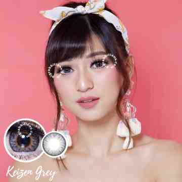 Kitty Kawaii Keizen Grey Softlens