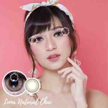 EOS Luna Natural Chai Softlens